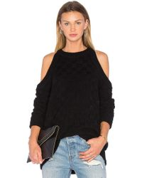 The Fifth Label - Abstraction Cold Shoulder Sweater - Lyst