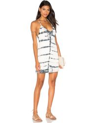 Gypsy 05 - Halter Deep V-Back Jersey Dress - Lyst