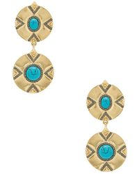 House of Harlow 1960 - X Revolve Dorelia Double Coin Earring - Lyst
