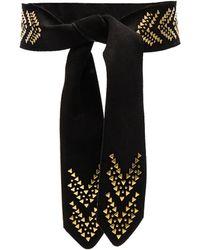 INTROPIA - Embellished Belt - Lyst