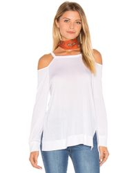 Lanston - Cut-Out Shoulder Jersey Pullover - Lyst