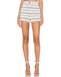 Rebecca Minkoff | Antiope Cotton-Blend Shorts | Lyst