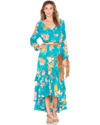 Spell & The Gypsy Collective - Jagger Floral Crepe Dress - Lyst