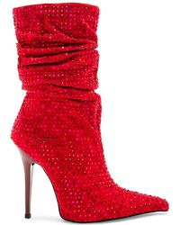 Jeffrey Campbell - Cray 4 U Boot In Red - Lyst