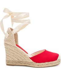 Jeffrey Campbell - Adorra Sandal In Red - Lyst