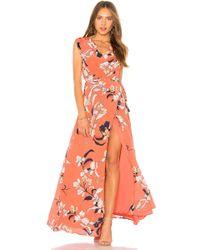 Yumi Kim - Swept Away Maxi Dress In Coral - Lyst