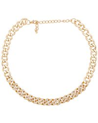 8 Other Reasons - Crushed Curb Chain In Metallic Gold. - Lyst