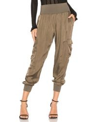 Cinq À Sept - Giles Pant In Olive - Lyst