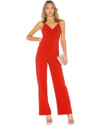 Likely - Brooklyn Jumpsuit In Red - Lyst