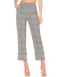 Lovers + Friends - Betty Pant In Black & White - Lyst