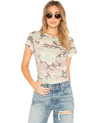 Wildfox | Camo Top | Lyst