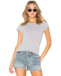 Lamade - Short Sleeve Crew Tee In Grey - Lyst