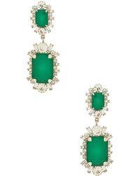 Elizabeth Cole - X Revolve Piper Earrings In Metallic Silver. - Lyst