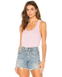 Wilt - Shrunken Shirttail Tank - Lyst