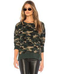 LNA - Mash Alpaca Sweater In Army - Lyst