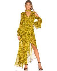 Diane von Furstenberg - Heyford Leopard Print Silk Chiffon Wrap Dress - Lyst