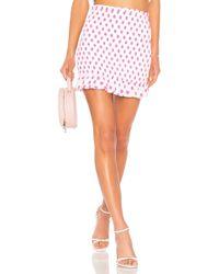 Lovers + Friends - Monaco Skirt In White - Lyst