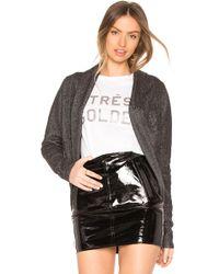Bobi - Malibu Knit Cardigan In Black - Lyst