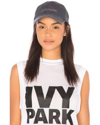 Ivy Park | Embroidered Dad Cap | Lyst