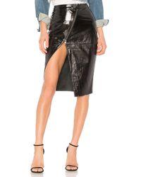 One Teaspoon - Reformer Patent Leather Skirt - Lyst