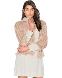 Heartloom | Rosa Rabbit Fur Jacket | Lyst