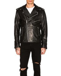Urban Outfitters - Easy Rider Mc Jacket In Black - Lyst