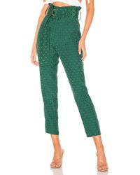 Tularosa - Greyson Pant In Green - Lyst