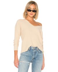 House of Harlow 1960 - X Revolve Miles Pullover In Tan - Lyst