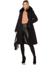 Mackage - Nia Coat With Raccoon Fur - Lyst