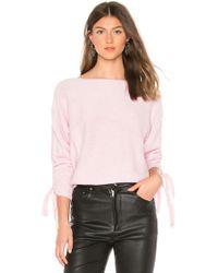 Joie - Dannee Sweater In Pink - Lyst