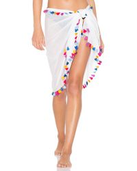 Michael Stars - Silky Solid Sarong - Lyst