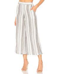 Jen's Pirate Booty - Stripe Garam Crop Pant In White - Lyst