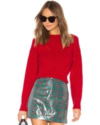 Tanya Taylor - Eloisa Jumper In Red - Lyst