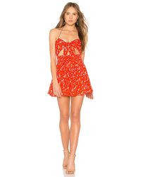Blue Life - Earth Angel Romper In Red - Lyst