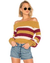 House of Harlow 1960 - X Revolve Shannon Sweater In Mustard - Lyst