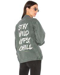 Spiritual Gangster - Stay Wild Gypsy Child Army Jacket - Lyst