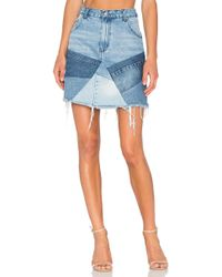 PRPS - Patch Mini Skirt - Lyst