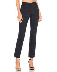 Theory - Straight Trouser In Blue - Lyst