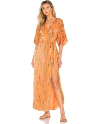 House of Harlow 1960 - X Revolve Rochelle Dress In Orange - Lyst