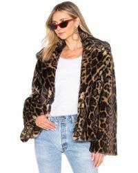 Nili Lotan - Sedella Faux Fur Coat - Lyst