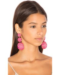 Mercedes Salazar - Fiesta Tropical Earrings - Lyst