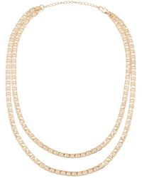 Joolz by Martha Calvo - Mariner Double Necklace - Lyst