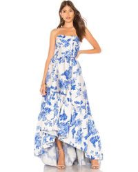 MESTIZA NEW YORK - Georgiana High Low Cocktail Dress - Lyst