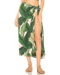 Beach Riot - X REVOLVE Palm Sarong Cover Up - Lyst
