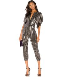 Norma Kamali - Rectangle Jog Jumpsuit - Lyst