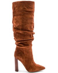 Steve Madden - Swagger Boot In Cognac - Lyst