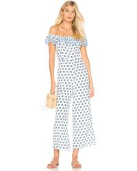 Paloma Blue - Ravello Jumpsuit In White - Lyst
