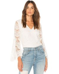 MINKPINK - Tainted Love Lace Blouse - Lyst