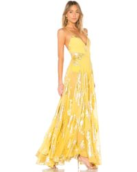 MESTIZA NEW YORK - Stella Bodysuit Gown - Lyst