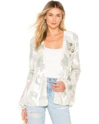House of Harlow 1960 - X Revolve Jolie Embellished Jacket In White - Lyst